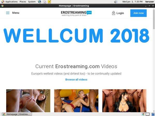 Erostreaming.com Gratis Password