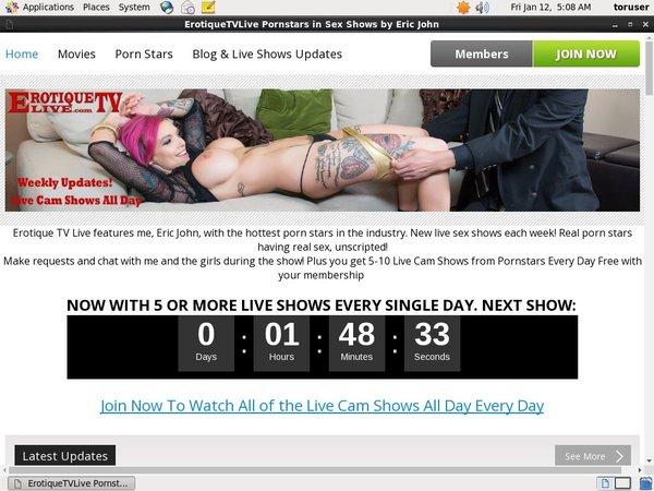 Erotiquetvlive.com With Australian Dollars