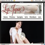Free Legs Japan Account New