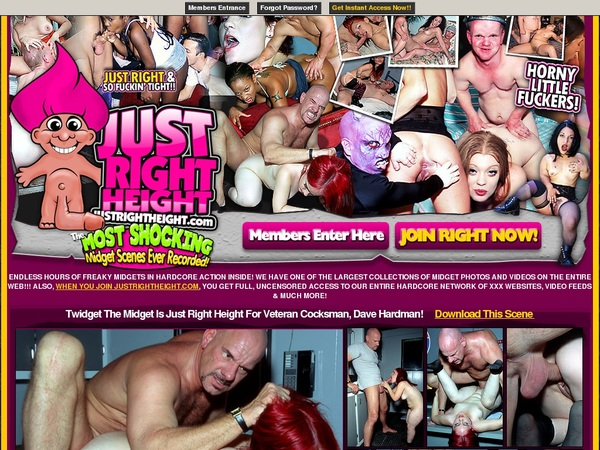 Justrightheight.com Models
