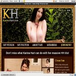 Karina Hart Accounts Password