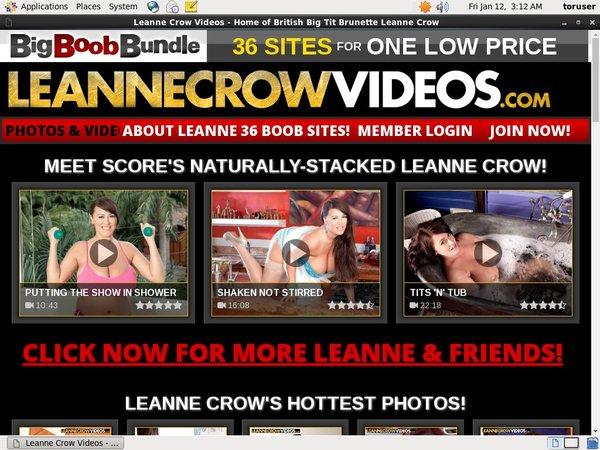 Leanne Crow Videos Debit Card
