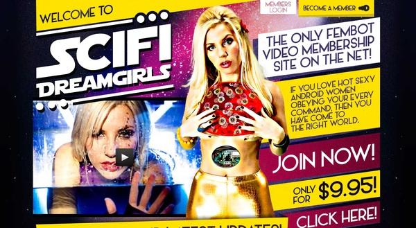 SciFi Dream Girls Segpay