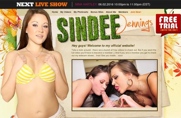 Sindeejennings.com Member Account
