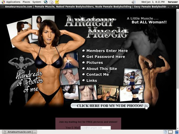 Amateurmuscle.com Free Pass