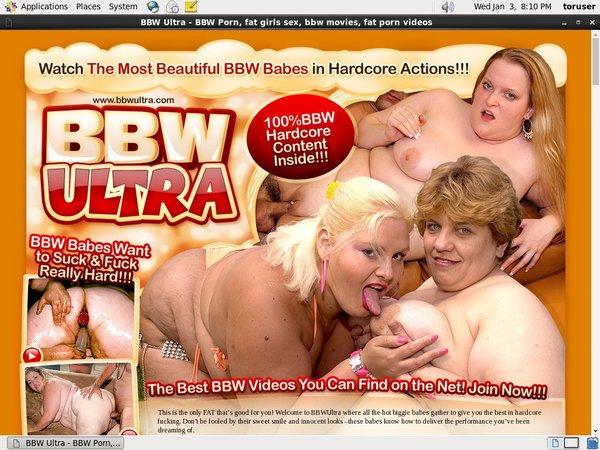 BBW Ultra Login Account