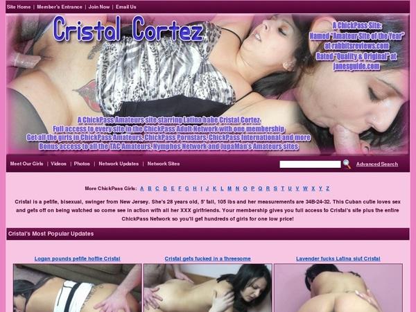 Cristalcortez.com User And Password