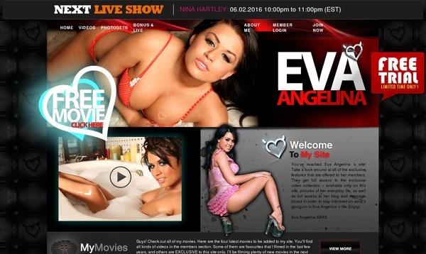 Eva Angelina Accounts And Passwords