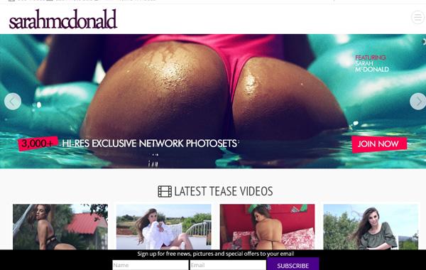 Free Sarah Mcdonald Accounts Premium