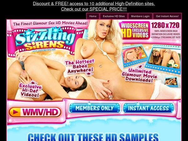 Free Sizzlingsirens.com Pass