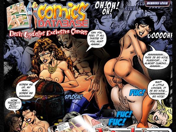 Log In Comicsdatabase.com