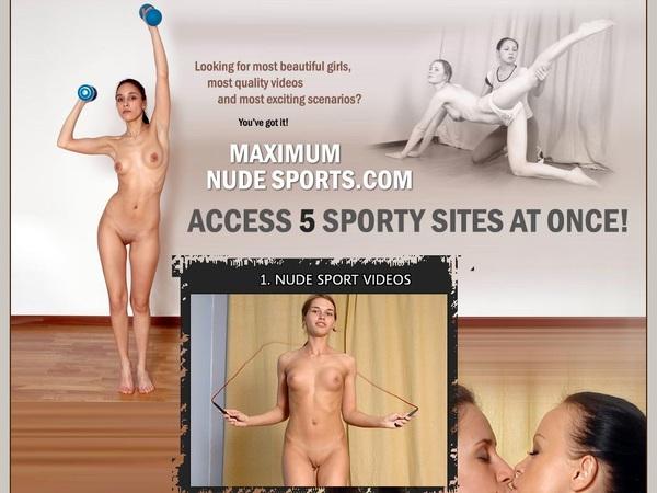 Maximum Nude Sports Account 2014