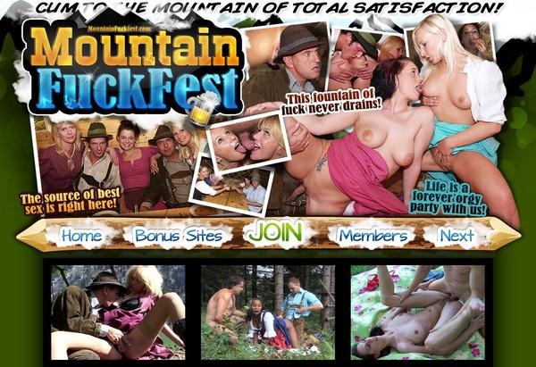 Mountainfuckfest.com Trial Membership