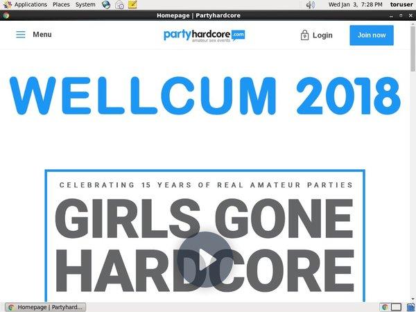 Partyhardcore.com Account And Passwords