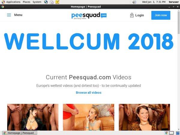 Password Pee Squad Free