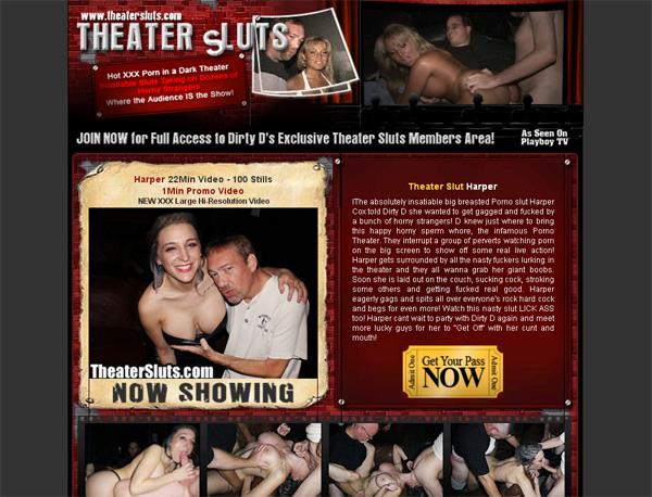 Theatersluts Mobile Account