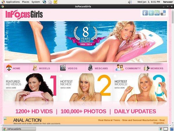 Account Free For Infocusgirls.com