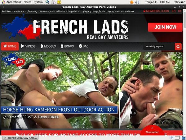 Frenchlads.com Users