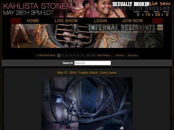 Infernalrestraints.com Free Videos