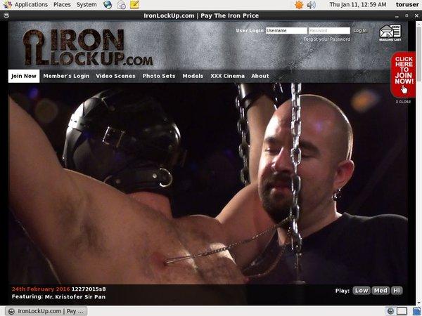 Ironlockup Password Premium