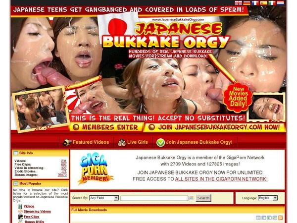 Japanese Bukkake Orgy Cc Bill