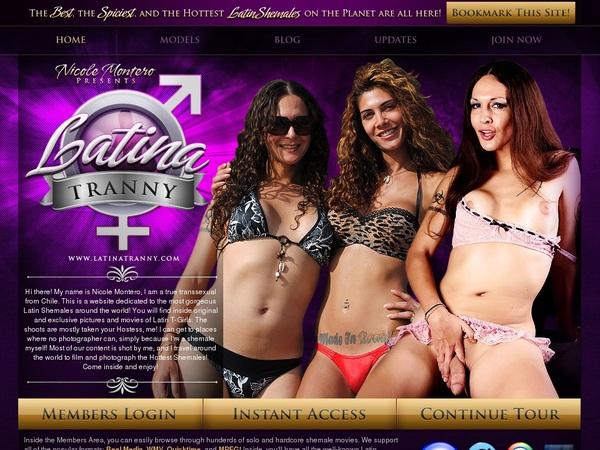 Latinatranny.com Free Membership
