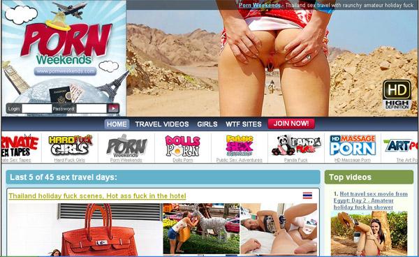 Porn Weekends Full Site