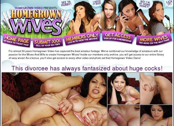 Premium Homegrown Wives Password