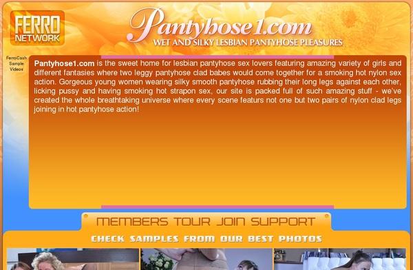Premium Pantyhose 1 Pass