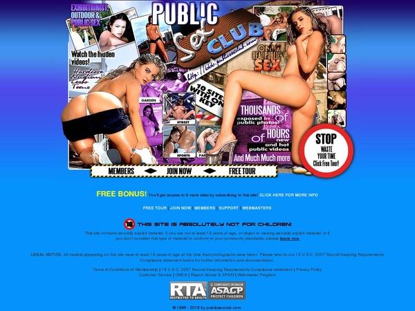 Premium Public Sex Club Accounts