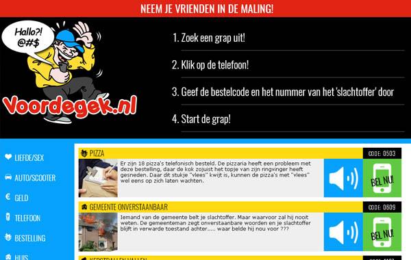 Voordegek.nl Login Passwords