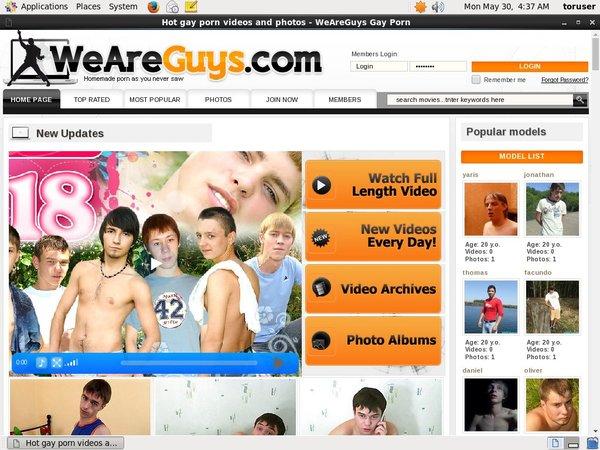 Weareguys Account 2014