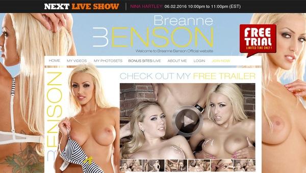 Breannebenson.com Free Pass