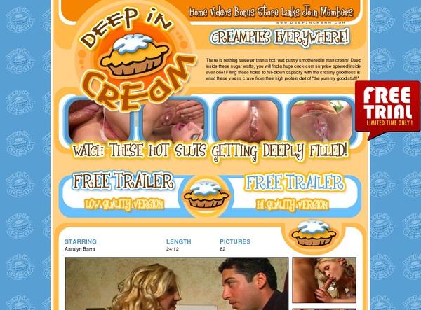 Deep In Cream Full Site