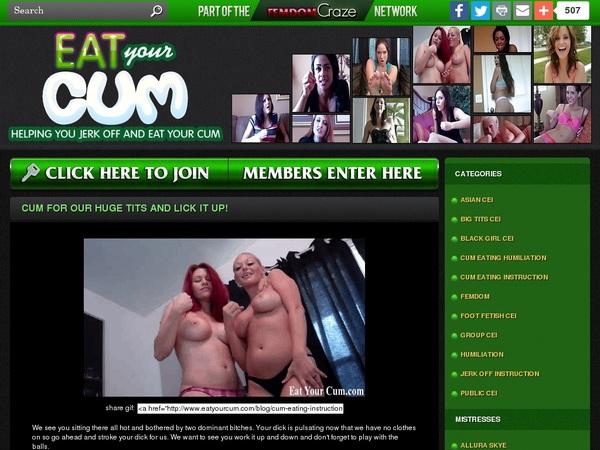 Eatyourcum.com Free Accounts