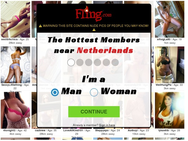 Fling Account And Password