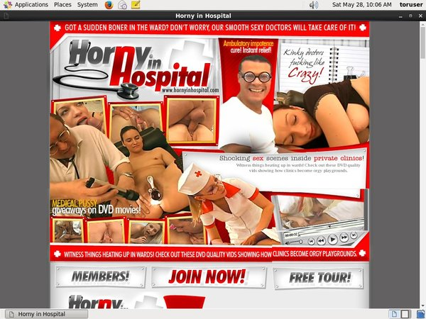 Free Account On Horny In Hospital