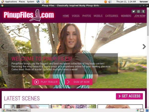 Pinupfiles.com Mobile