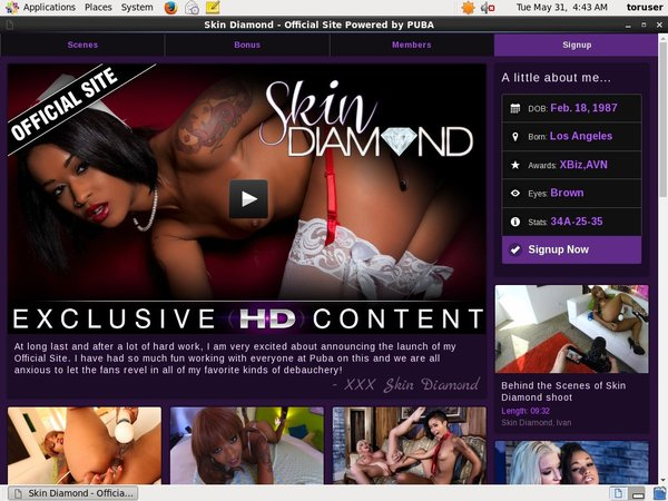 Skindiamond Accounts Daily