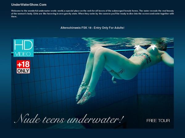 Underwater Show Accounts And Password