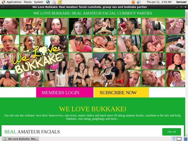 We Love Bukkake Porn
