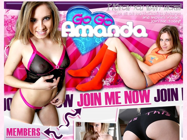 Gogo Amanda Password And Account