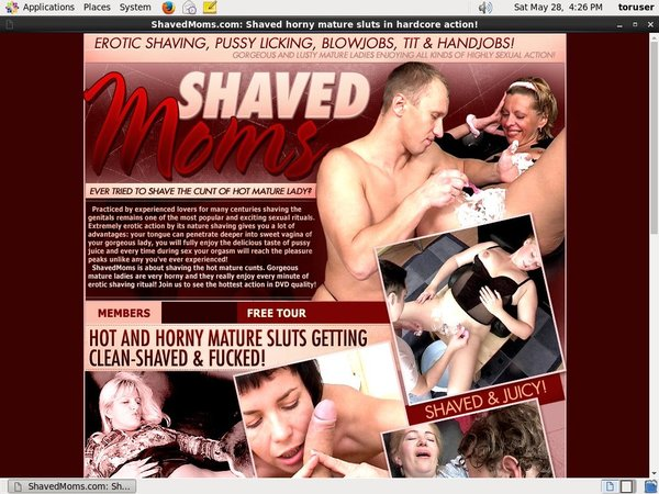Shaved Moms Login Account